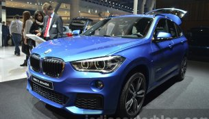 BMW X1 M-Sport, BMW X6 with M accessories - 2015 Frankfurt Motor Show Live
