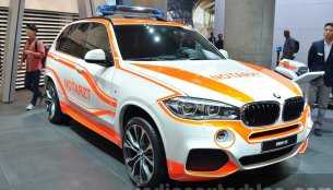 BMW X5 Emergency, BMW i3 Fluid Black, BMW M4 Frozen Red Metallic - 2015 Frankfurt Motor Show Live