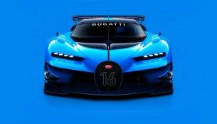 Bugatti Vision Gran Turismo unveiled, could preview Bugatti Chiron's design - IAB Report