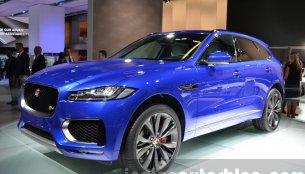 Jaguar F-Pace - 2015 Frankfurt Motor Show Live