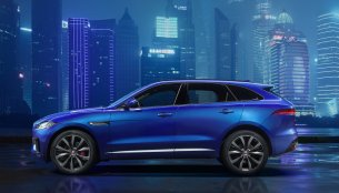 Jaguar F-Pace side profile revealed ahead of Frankfurt debut - IAB Report