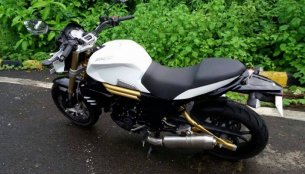 Mahindra Mojo to be offered in three colours, spotted in white - IAB Report