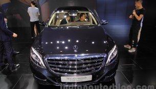 Mercedes Maybach S500 – 2015 Chengdu Motor Show Live