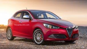 Next generation Alfa Romeo MiTo - Rendering