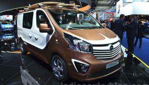 Vauxhall/Opel Vivaro Surf Concept - 2015 Frankfurt Motor Show Live