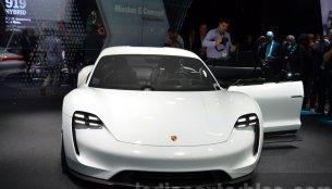 Porsche Mission E - 2015 Frankfurt Motor Show Live