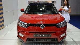 Euro-spec Ssangyong Tivoli diesel - 2015 Frankfurt Motor Show Live
