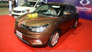 India-bound Ssangyong Tivoli launched in Nepal at INR 33.66 lakhs