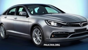 2016 Proton Perdana (based on Honda Accord) - Rendering