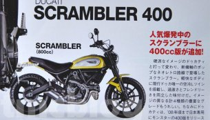Ducati Scrambler 400 expected to be unveiled at EICMA 2015 - Report