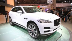 Jaguar F-Pace to launch in India on October 20 - Report