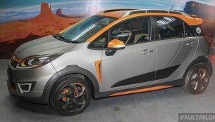 "Proton Iriz Active ""Mk2"" concept debuts at the Alami Proton 2015 - Report"