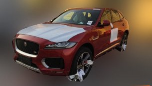 India-bound Jaguar F-Pace spotted in China - Spied