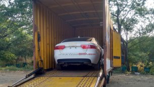 Jaguar XE spotted in India for the first time - Spied