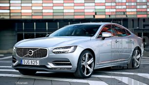 Volvo S90 with inputs from leaked scale models - Rendering