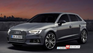 2016 Audi A3 Sportback (facelift) interior and exterior - Rendering