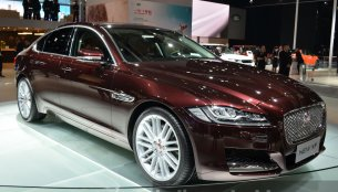 India-bound 2016 Jaguar XF – Motorshow Focus