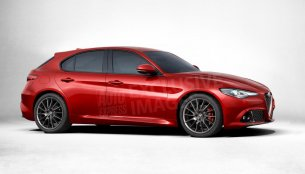 Second generation 2017 Alfa Romeo Giulietta detailed, rendered - Report