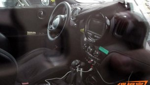 Interior of the Mini Countryman 2017 snapped in China - Spied