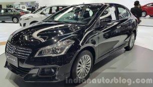 Suzuki Ciaz RS debuts at 2015 Thailand Motor Expo - IAB Report