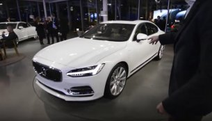 Volvo S90 exterior and interior walkaround - Video