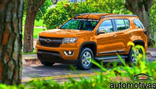 Chevrolet Trailblazer 2016 (Facelift) - Rendering