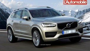 Second-gen 2017 Volvo XC60 rendered, detailed - Report