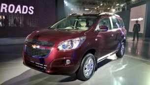 Chevrolet Spin - Auto Expo 2016 Live