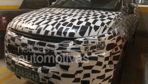 Chevrolet Trailblazer facelift spotted up close - Spied