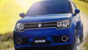 India-bound Suzuki Ignis brochure scans surface ahead of launch - Japan