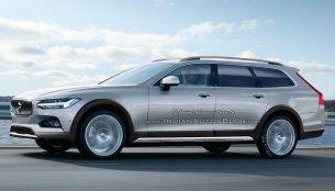 Volvo V90 Cross Country - IAB Rendering