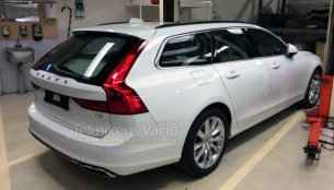 Volvo V90 leaked ahead of world debut - Spied