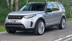 2016 Land Rover Discovery - Rendering