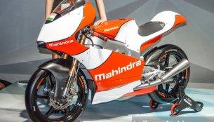 2016 Mahindra Moto3 race bike, Mahindra Formula E race car - Auto Expo 2016