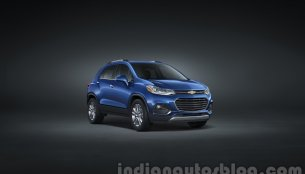 2017 Chevrolet Trax (facelift) revealed - USA
