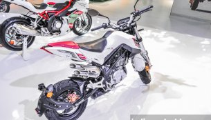 Benelli TNT135 spotted testing in India for first time