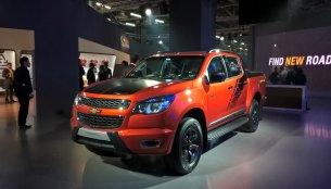 Chevrolet Colorado pickup - Auto Expo 2016 Live