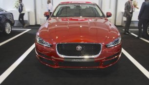 Jaguar XE showcased at Make in India event - IAB Report
