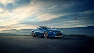 Lexus LC 500h confirmed for Geneva Motor Show premiere - IAB Report