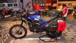 Mahindra Mojo Scrambler, Mahindra Mojo Adventure - Auto Expo 2016
