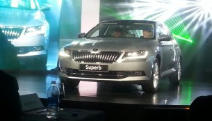 2016 Skoda Superb launched in India at INR 22.68 Lakhs - IAB Report [Updated]