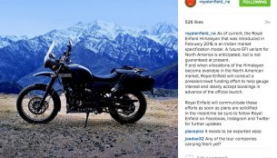 Royal Enfield Himalayan FI anticipated for export markets - IAB Report