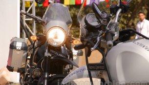 Bajaj V, Royal Enfield Himalayan to launch next month - IAB Report