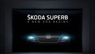 2016 Skoda Superb teased in India ahead of launch - IAB Report