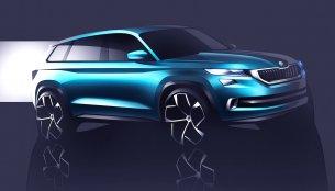 Skoda VisionS SUV concept announced; debuts in Geneva - IAB Report