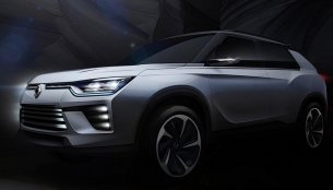 Ssangyong SIV-2 SUV concept teased ahead of Geneva show - IAB Report