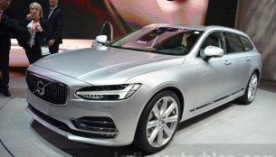 Volvo V90 - 2016 Geneva Motor Show Live