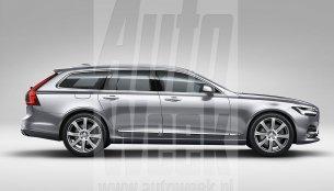 Volvo V90 interior, exterior prematurely revealed - Report
