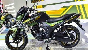 Yamaha SZ-RR V2.0 Matt Green - Auto Expo 2016