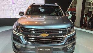 2016 Chevrolet Trailblazer Premier (facelift) unveiled - 2016 Bangkok Live
